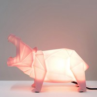 House of Disaster Pink Hippo Light at asos.com