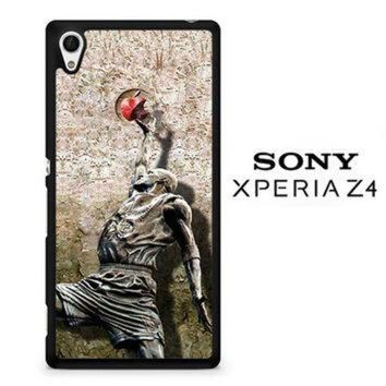 DCKL9 Michael jordan slam dunk carbonite V0979 Sony Xperia Z4 Case