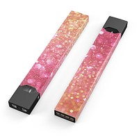 Skin Decal Kit for the Pax JUUL - Glowing Pink and Gold Orbs of Light