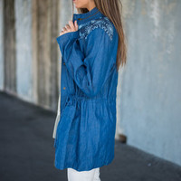 You Do It West Jacket, Chambray