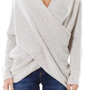 Oatmeal Hamptons Knit Sweater
