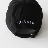 Go Away Cap - Black