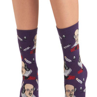 ModCloth Quirky, Scholastic Toe-meo and Juliet Socks