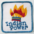 INDIAN POWER vintage patch