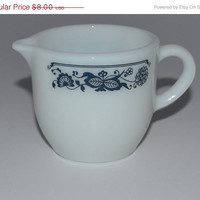 ON SALE Creamer Vintage Creamer Pyrex Tableware by JudysJunktion