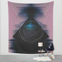 Energy Influx Wall Tapestry by Ducky B