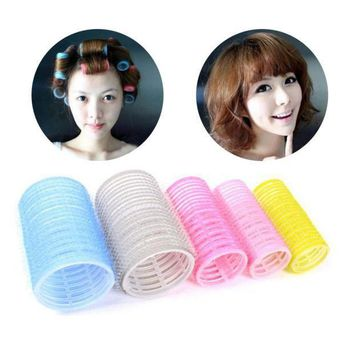 ESBON free shipping 6pcs/1set soft large salon hair rollers curlers hairdressing tool