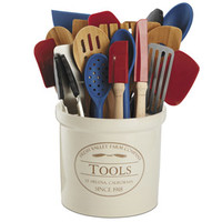 CHEFS Ultimate Kitchen Utensil Set and Fresh Valley Tool Crock | CHEFScatalog.com
