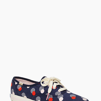 Kate Spade Keds For Kate Spade New York Kick Sneakers Navy Seaport Dot