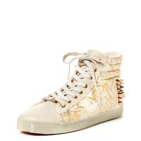 Bling High Top Sneaker