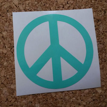 Peace Sign Decal | Peace Decal | Peace Sign | Peace Sign Car Decal | Peace Sign Car Sticker | Peace Sign Bumper Sticker