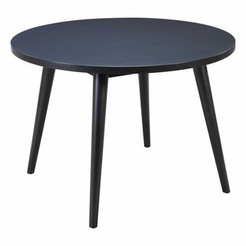 Raven Round Dining Table Black