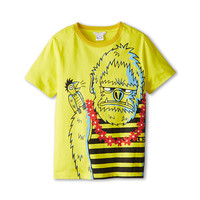 Little Marc Jacobs Gorilla Print S/S Tee (Little Kids/Big Kids)
