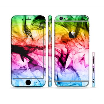 The Neon Glowing Fumes Sectioned Skin Series for the Apple iPhone6s Plus