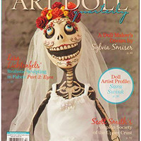 2 Rare Out-of-Print Issues of ART DOLL Quarterly Magazine - Fall 2015 & Winter 2016 Craft Supplies Doll Making Supply
