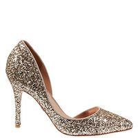 Badgley Mischka Dixi Glitter Pumps