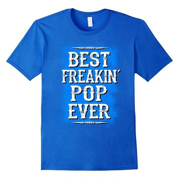 Mens Pop gifts for fathers day 2017 from son daughter tee shirt