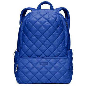 Roberts Medium Quilted-Nylon Backpack | Michael Kors