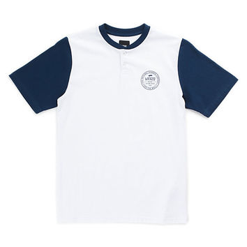 Boys Denton Henley T-Shirt | Shop Boys Tops At Vans