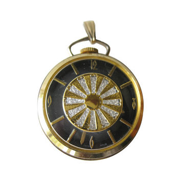 MOD Mechanical Watch Pendant / Watch Necklace / Vintage Timepiece / 1960s Watch