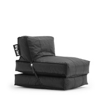 Big Joe Stretch Limo Black Flip Lounger In Smartmax