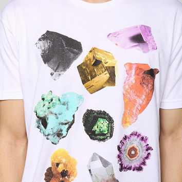 FUN Artists Geo Rocks Tee - Urban Outfitters