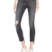 FRAMESkinny Raw Stagger Jeans in Marcy - 100% Bloomingdale's Exclusive