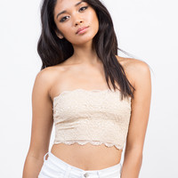 Cover-Up Lace Bandeau