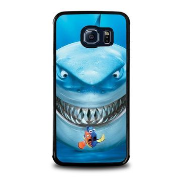 finding nemo fish disney samsung galaxy s6 edge case cover  number 1