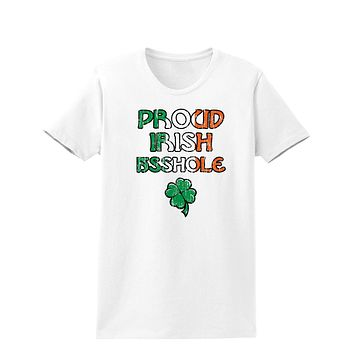 St. Patrick's Day Adult Womens T-Shirt - Choose From Many Fun Designs!