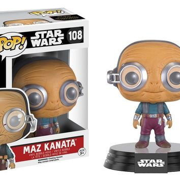 Maz Kanata Star Wars The Force Awakens Pop! Vinyl Figure #108
