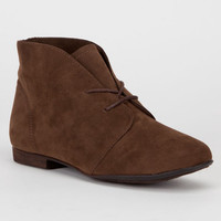 Breckelle's Sandy Womens Boots Light Brown  In Sizes