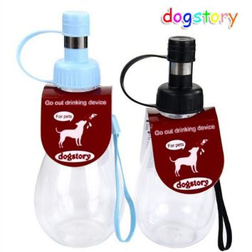 Portable Pet Dog Drinking Water dispenser Carry Travel Pet Dog Water Bottle Pet Supplies