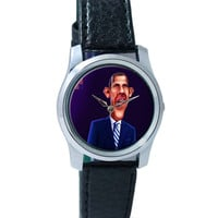 President Barack Obama Quirky Wrist Watch