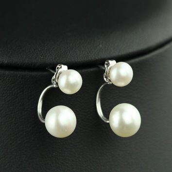 Pearls 925 Silver Stylish Earring Accessory [4914882756]