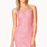 Enchanted Lace Bodycon Dress
