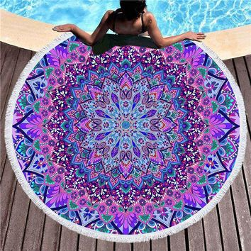 Boho Blanket Round Beach Towels