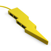 USB Hub Lightning Bolt