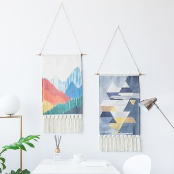 Hand-knotted Wall Hanging Tapestry