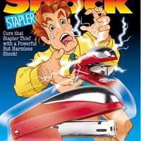 Gag Gift Shocking Stapler - Shock Your Friends and Co-workers!