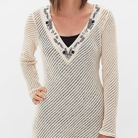 BKE Boutique Open Weave Sweater