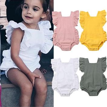 Riley Reign's Ruffled Romper