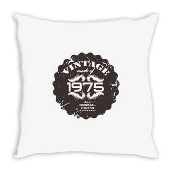 vintage made of 1975 all original parts Throw Pillow