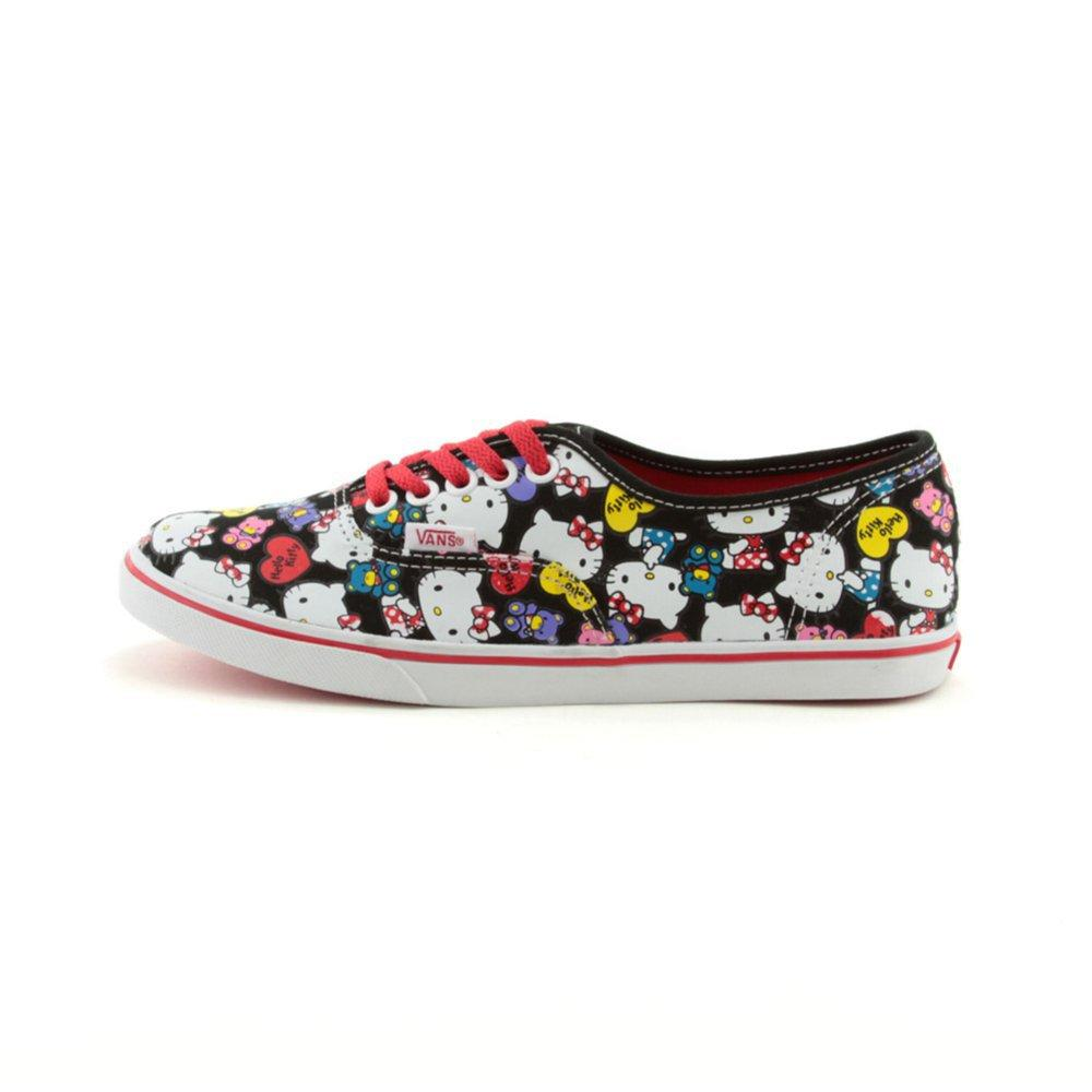 Vans Authentic Lo Pro Hello Kitty® Skate Shoe, Black/Red, at Journeys Shoes
