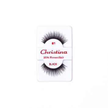 Christina #1 False Eyelashes - Pack of 3