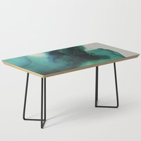 Anahata (Heart Chakra) Coffee Table by duckyb
