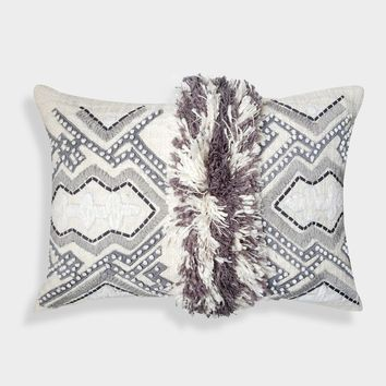"""A1HC Organzza Handcrafted Moroccan Decorative Throw Pillow (14"""" X 20"""" X 4"""")"""