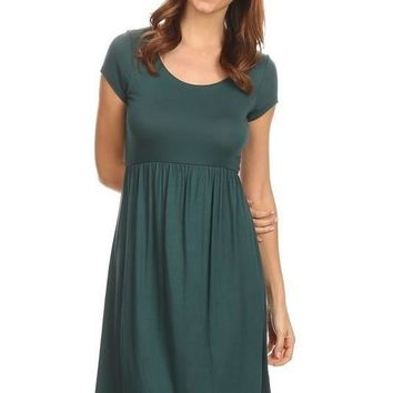 Day After Day Dress - Dark Teal