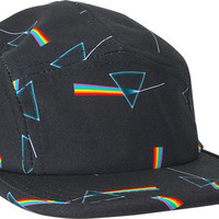 Habitat/Pink Floyd Dark Side Of The Moon 5 Panel Hat Adjustible Black