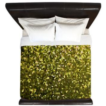King Duvet Gold Mosaic Sparkley 1> Home> Medusa81 GraphicArt